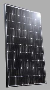 svart solpanel 250w